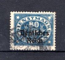 BAYERN Yt. S71° Gestempeld Dienstzegel 1920 - Bayern