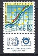 Yv Israel 1192 +tab, European Unification.** - Israel