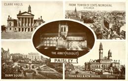 Paisley Multiview # Valentine's Post Card # - Renfrewshire