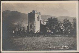 Crosthwaite Church, Keswick, Cumberland, C.1920 - Pettitt RP Postcard - Cumberland/ Westmorland