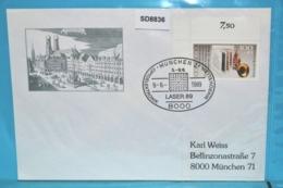 SD8836 LASER 89, Optoelektronik, Mikrowelle, 8000 München 9.6.1989 - BRD