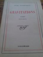 Gravitations JULES SUPERVIELLE Gallimard 1937 - Poetry