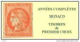 Monaco, Année Complète 2002, N° 2319 à N° 2381** Y Et T - Années Complètes