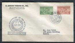 Filipinas 1949. FDC. - Philippines