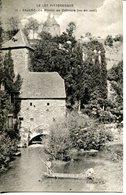 C.P.A.46.LOT.CAJAC.LE MOULIN DE COÏMBRE ( VUE EN AVAL ) - Frankrijk