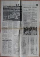 24 H Du Mans 1974.Lot De 26 Pages De Différents Journaux. - Desde 1950