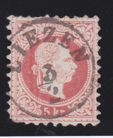 1867 LIEZEN Gestempelt Müller - Nr: 1922  / Punkte : 10 - 1850-1918 Empire