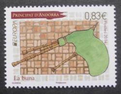 Andorra   FP     Europa    Cept     Musikinstrumente  2014 ** - 2014