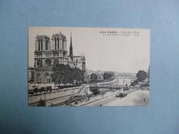 PARIS  -  75  - Eglise  Notre Dame  -  Le Pont D'Arcole Et La Seine - Notre Dame Von Paris