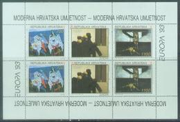 HR 1993-240-2 EUROPA CEPT, CROATIA HRVATSKA, MS, MNH - Croatie