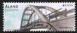 2018 Aland Islands, Europa Cept - Bridges Used. - Aland
