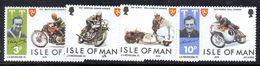 XP3647 - MAN 1974 , Unificato N. 29/32  *** Motociclismo - Isola Di Man