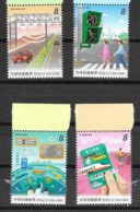 TAIWAN, 2019, MNH, INTELLIGENT TRANSPORT, CARS, TRAINS, PEDESTRIANS, 4v - Trains