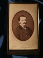 Photo CDV  Bargaud à Nantes  Portrait Homme (Mr Mocquard)  CA 1890 - L481F - Fotos