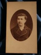 Photo CDV  Furst à Nantes  Portrait Homme  CA 1890 - L481F - Fotos