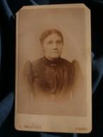 Photo CDV  Prouzet à Paris  Portrait Femme  CA 1890 - L481F - Fotos