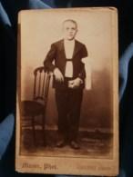 Photo CDV  Mayer à Vincennes  Communiant  CA 1890 - L481F - Fotos