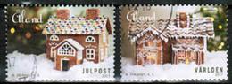 2017 Aland Islands, Christmas Set Used. - Aland