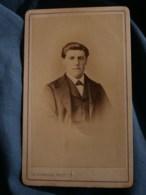 Photo CDV  Scherrer à Chaumont  Portrait Homme CA 1870 - L481F - Fotos