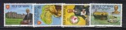 ISOLA DI MAN 1975 , Unificato Serie N. 55/58  ***  MNH - Isola Di Man