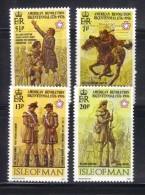 ISOLA DI MAN 1976 , Unificato Serie N. 63/66  ***  MNH - Isola Di Man