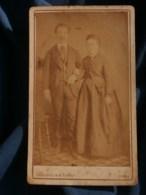 Photo CDV  Gougenheim & Forest à Paris  Couple Debout Se Tenant Par Le Bras  CA 1875 - L481F - Fotos
