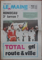 24 H Du Mans 1979. Rondeau 3° Larron ? - Desde 1950