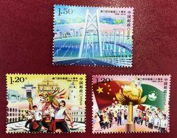 China 2019-30 Return Of Macao To The Motherland MNH Bridge Religion - 1949 - ... République Populaire