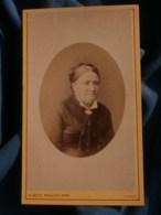 Photo CDV  Prouzet à Lille  Portrait Femme âgée  CA 1880 - L481F - Fotos