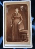 Photo CDV  Berthon à St Etienne  Femme Debout  CA 1875 - L481F - Fotos