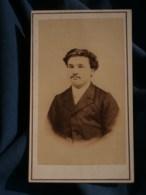 Photo CDV  Jerome à Issoudun  Portrait Homme  CA 1870-75 - L481F - Photographs
