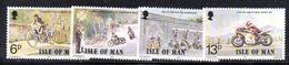 XP3649 - MAN 1977 , Unificato N. 90/92  *** Motociclismo - Isola Di Man
