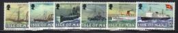 ISOLA DI MAN 1980 , Unificato Serie N. 159/164  ***  MNH - Isola Di Man
