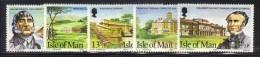 ISOLA DI MAN 1980 , Unificato Serie N. 170/174  ***  MNH - Isola Di Man