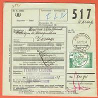 190 Pa - Andrimont-Verviers 1958 Sur CF 361 Vers Warsage - 1952-....