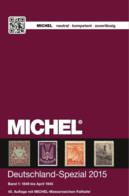 MICHEL Duitsland-Spezial Catalogus Band 1/2 - 2015 PDF Op DVD - Germania