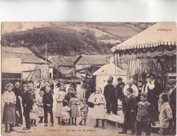 CPA - 08 - SENUC (Ardennes) - La Fête De Saint Orick - Très Beau Plan De Manège Entouré D'enfants - Voir Description - France
