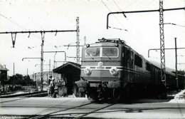 190120 - PHOTO BREHERET TRANSPORT TRAIN CHEMIN DE FER 1955 - 73 AIX LES BAINS Le 610 CC-20002 SNCF - Aix Les Bains