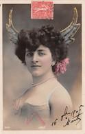 CPA Femme - Portrait - Artiste - JOLY - Wallery - Entertainers
