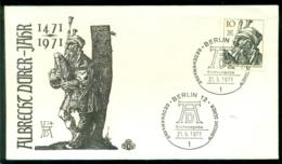 Bundesrepublik Deutschland Berlin 1971 FDC Albracht Dürer-Jahr - [5] Berlín