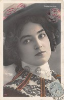 CPA Femme - Portrait - Artiste - MADIA - Conservatoire - Reutlinger - Entertainers