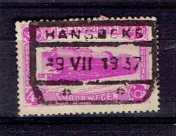 190 Pa - Hansbeke 1937 Sur CF N°176 - Bahnwesen
