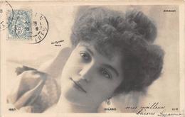 CPA Femme - Portrait - Artiste - MILANO - ALCAZAR - Reutlinger - Entertainers