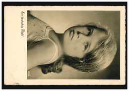 Foto-Ansichtskarte Ein Deutsches Mädel, Ungebraucht Um 1935 - Kinder