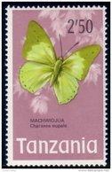 866 Tanzania Butterfly Papillon 2'50 MNH ** Neuf SC (TZN-36) - Tansania (1964-...)
