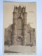 5 Gand Eglise St-Michel Gent St-Michielskerk Gelopen 1938 Uitg Papeterie St-Amand - Gent