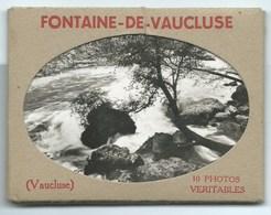 LOT DE 10 PETITES PHOTOS VERITABLES 6 X 9 / FONTAINE DE VAUCLUSE - Lieux