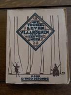 Oud Boek             Het Toneelleven In Vlaanderen Door De Eeuwen Heen  Door DR .  THEO  DE  RONDE   1930 - Théâtre