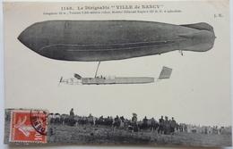 "LE DIRIGEABLE "" VILLE DE NANCY "" - Aeronaves"