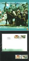 Norway 2003 World Refugee Day  Mi 1469-1470 MNH  And FDC  In Folder - Norwegen